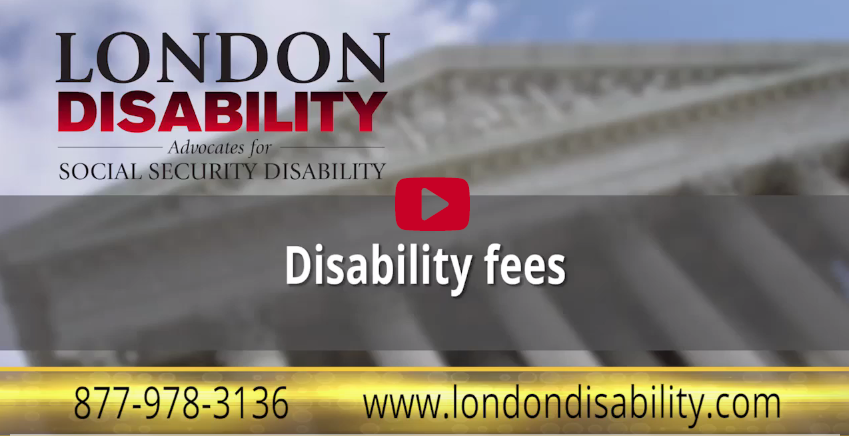 Disability Fees