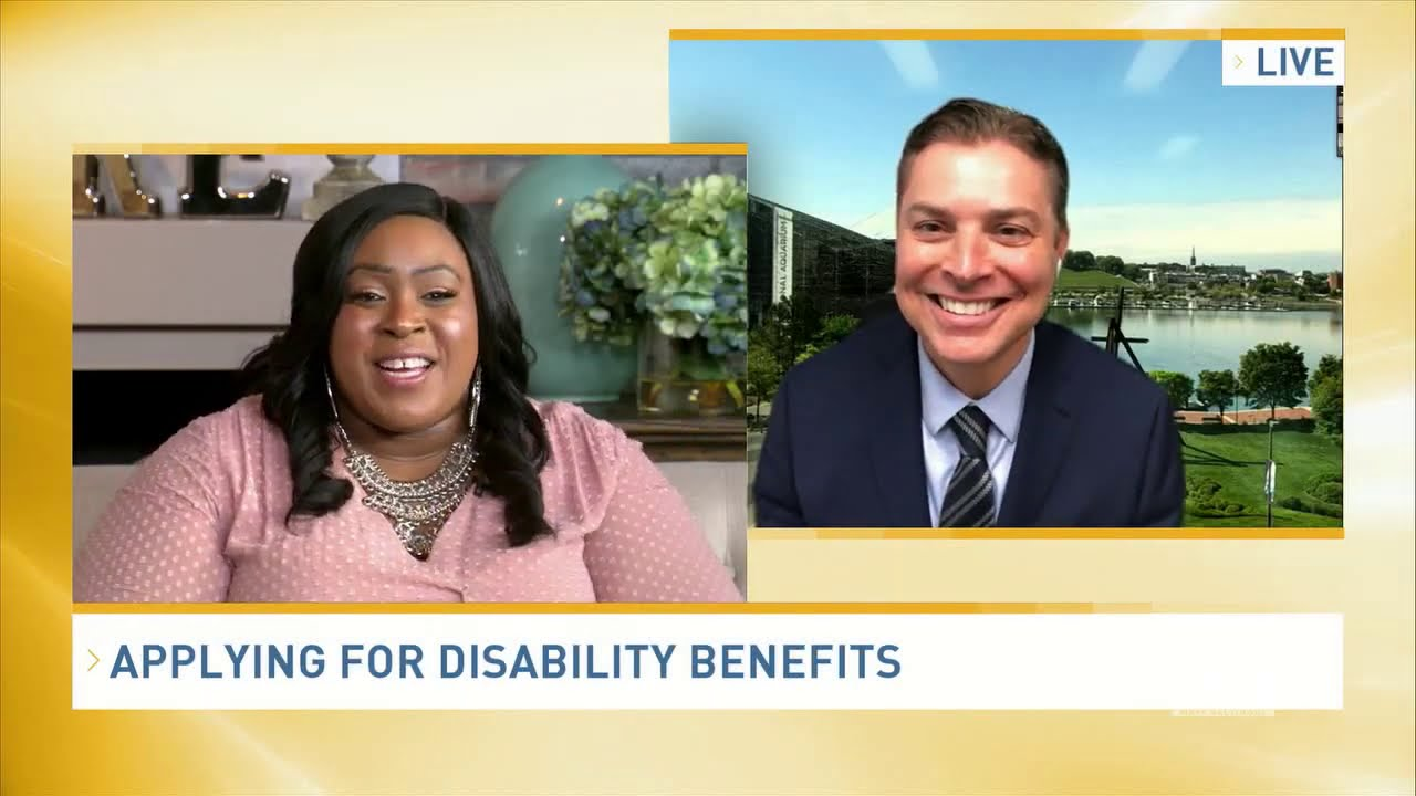 Scott Explains Common Medical Problems That Qualify for Disability with  Lady T on Bmore lifestyle