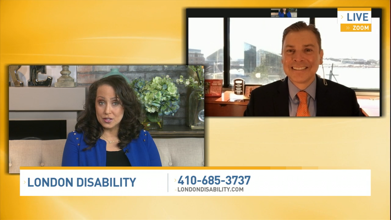 Scott Discusses  Reasons For Applying for Disability Live with Brandi Proctor on Bmore Lifestyle